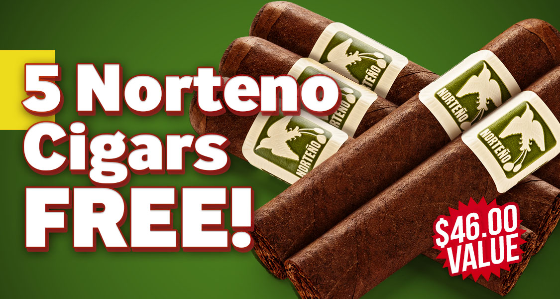Norteno 5-Pack Free With Herrera Estelí!