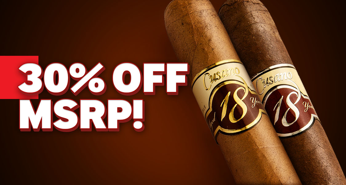 30% Off Cusano Cigars