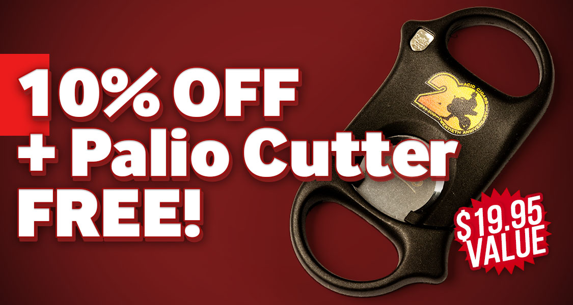 10% Off + Free Cutter