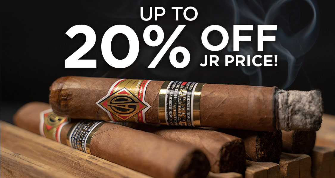 Sale Up To 20% Off JR Price