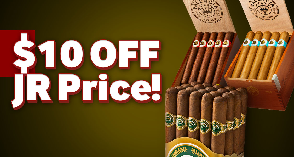 $10 Off Handmade Cigars