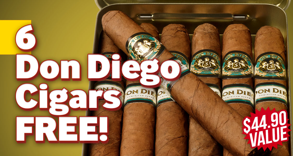 Don Diego 6-Pack Free